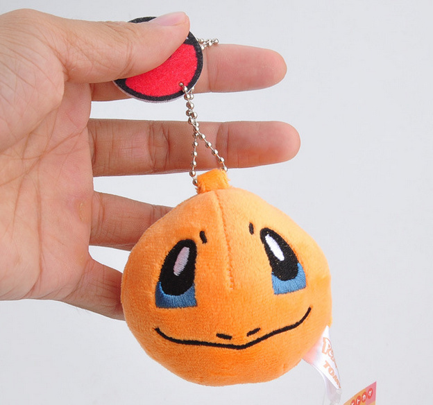 7CM Pikachu Plush Stuffed Toy Doll Kid's Party Keychain Gift Plush Toys Decor Pendant Toy B0893 4