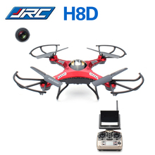 JJRC H8D 2.4 GHz Headless Modus 4CH 5.8G FPV RC Quadcopter Drone dengan Kamera 2MP RTF Remote Control Helikopter