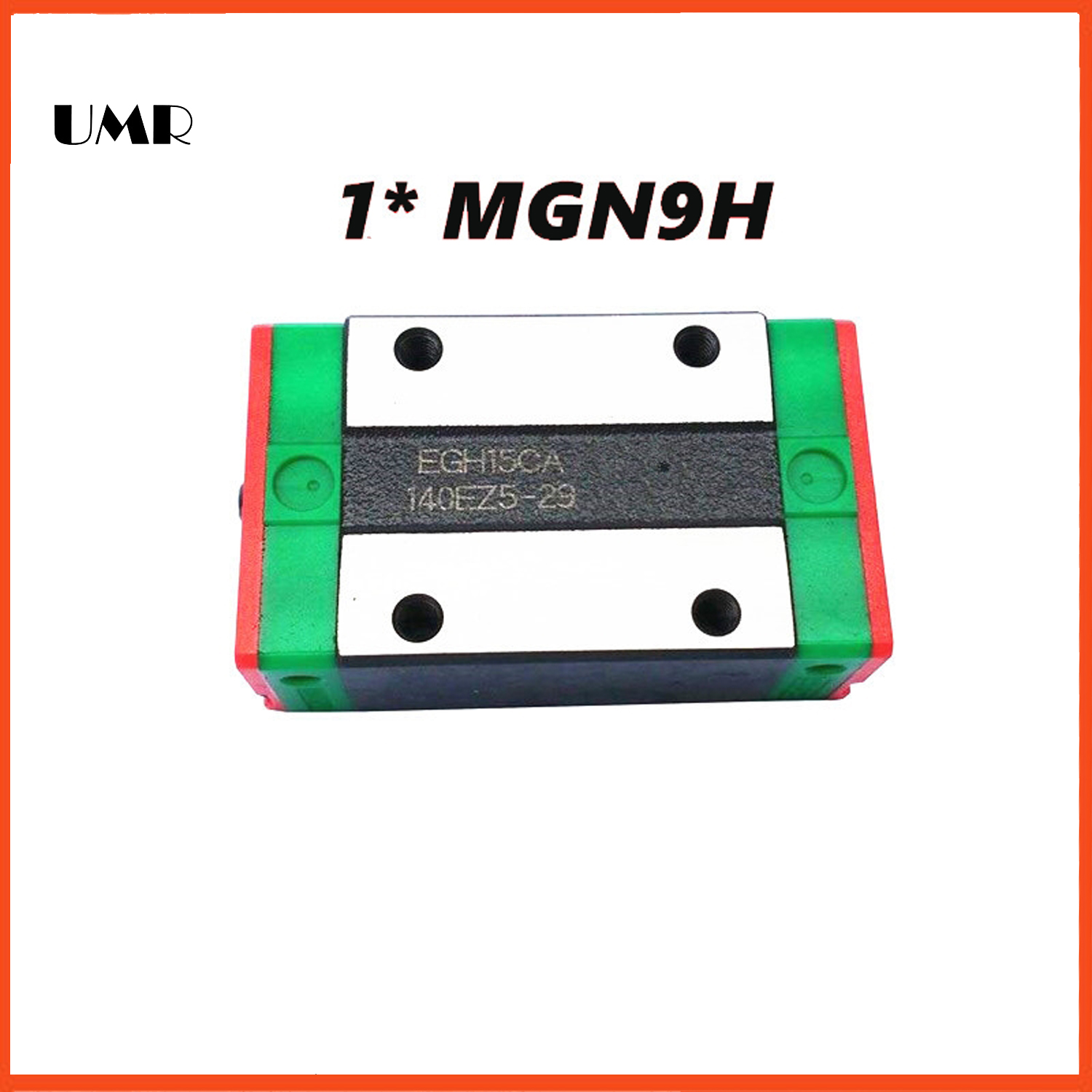 UMR bearings MGN9H block for MGN9 9mm Linear Guide 9mm linear rail way Long linear carriage for CNC X Y Z Axis linear bearings guides cpc linear guide linear guide unit