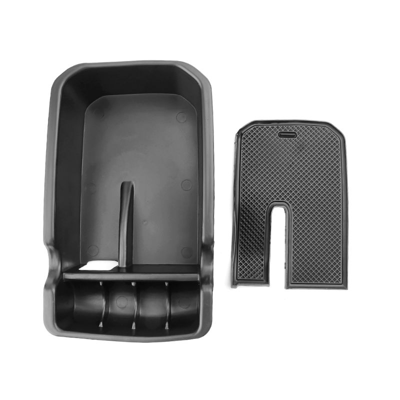 Center Console Organizer Tray Armrest Storage Box For <font><b>Jeep</b></font> <font><b>Compass</b></font> 2017 <font><b>2018</b></font> image