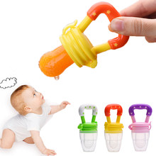 Learn Feeding Fruit Speen Pacifier Fruit Handle Feeding Pacifier Fruit Baby Nipple Fresh Food baby pacifier Feeding toy(China)