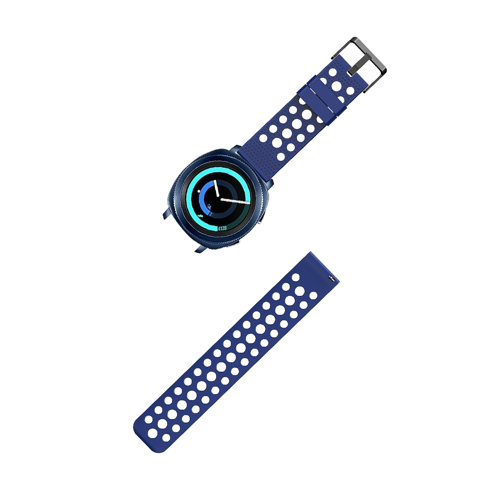 Honecumi 20mm Watch Bracelet Soft Silicone For Samsung Gear S2 Classic Smart Watch Strap Band For Samsung Gear Sport Accessories Pakistan