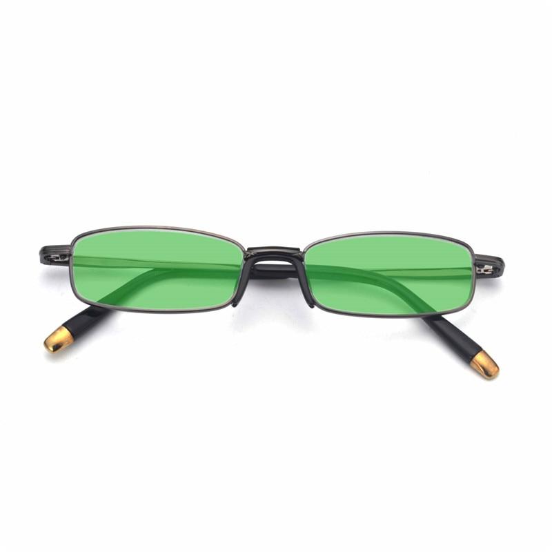 Sun-Glasses Shades Sexy Women Square MINCL Lens-Frame Film Tint LXL Black Red