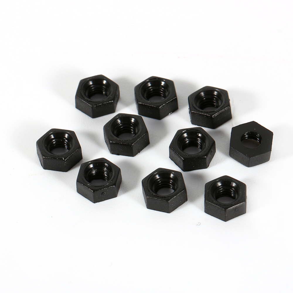 100Pcs Nuts Stainless Steel Hex Screw M2 Dia 2Mm Nut Ic New il