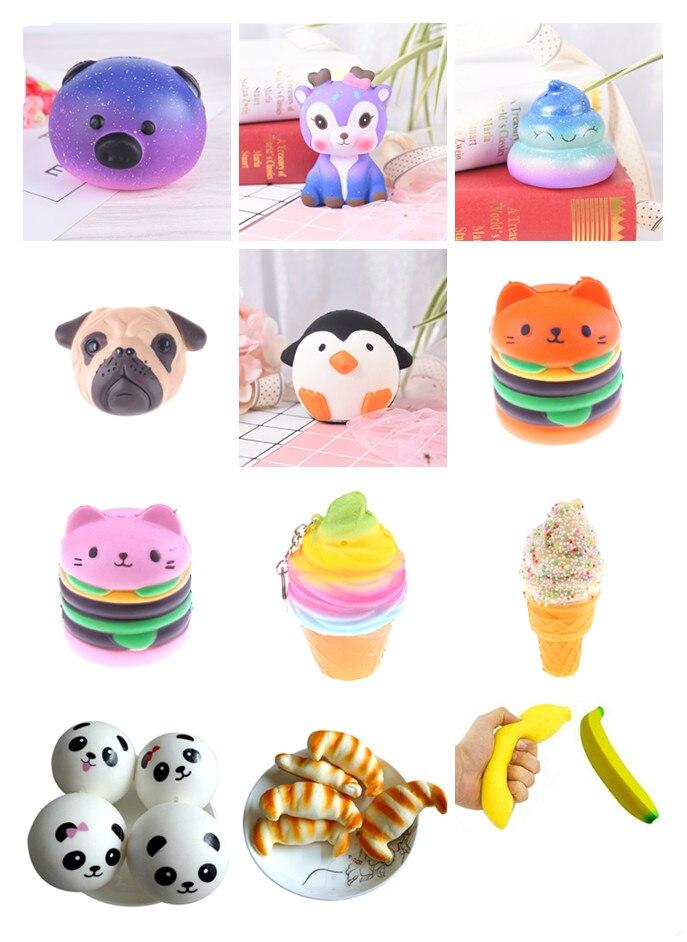 Anti-stress-spielzeug Für Kinder Kinder Französisch Frites Creme Duft Squeeze Langsam Rising Spielzeug Squeeze Spielzeug Squishy Stressabbau