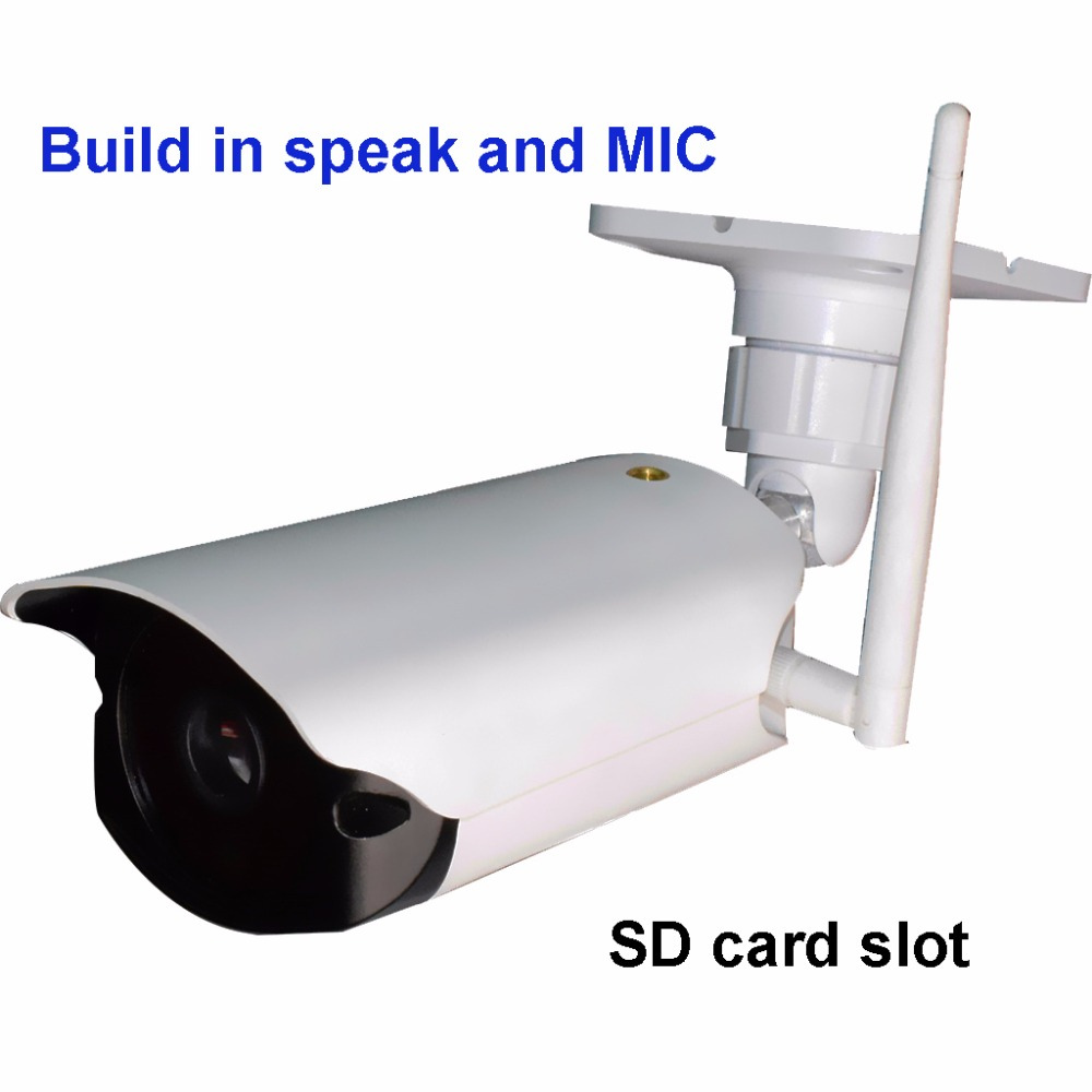 1080P 2 0MP Security wifi IP Camera build in speaker and Mic SD card slot reset