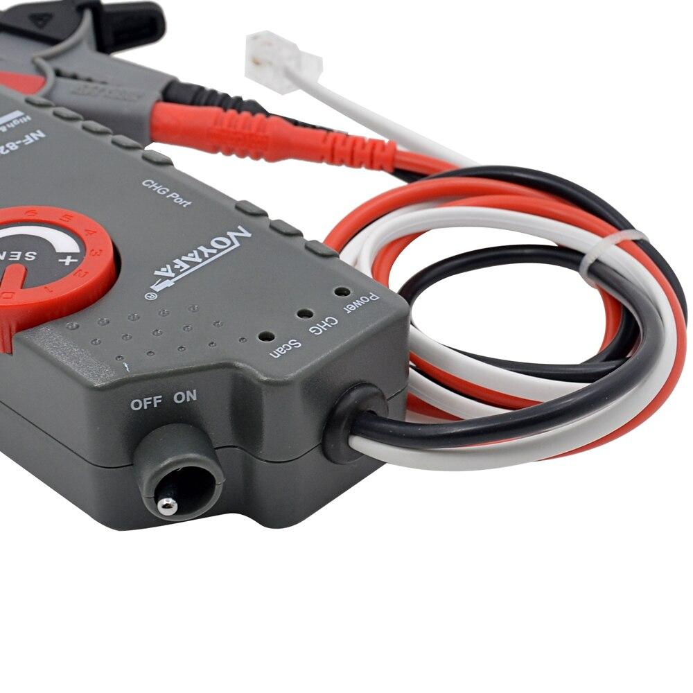 D'origine Noyafa NF-820 Haute & Basse Tension Ligne Trouveur Traqueur De Fil Diagnostiquer Ton Outil Kit LAN Testeur De Câble Réseau - 6