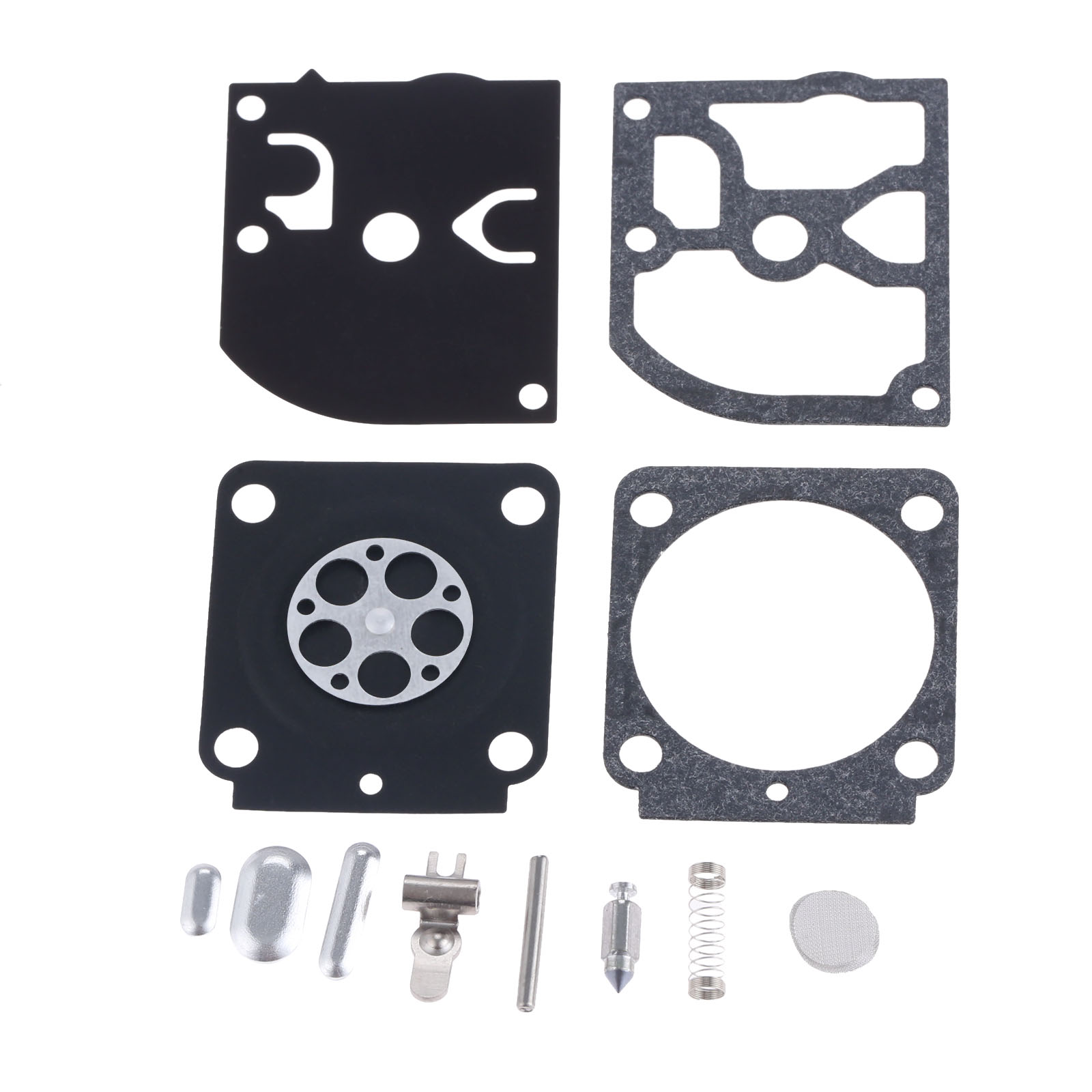 DRELD RB-106 Carburetor Carb Repair Rebuid Gasket Kit For Stihl FS38 HS45 FS55 ZAMA C1Q Carburetor RB-106 CARB Garden Tool Parts