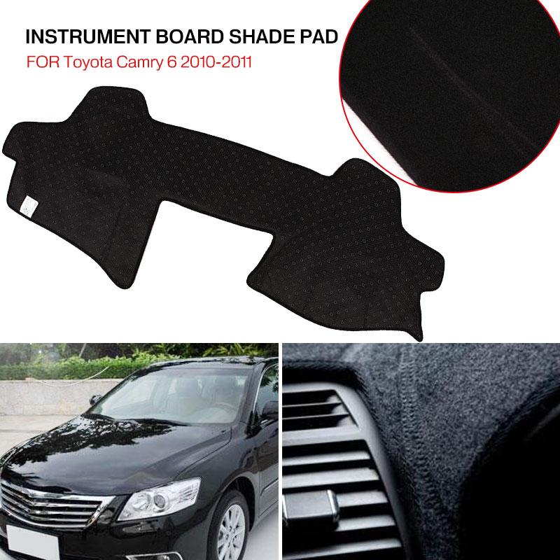 Vehemo силиконовый Противоскользящий коврик приборной панели крышка запчасти для двигателей левое сиденье водителя для приборной панели коврик Солнцезащитная Накладка для машины коврик черные тёмные очки