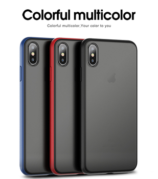 IPAKY luxury case for iPhone XR Xs Max case Specter Series Plastic + TPU Hybrid Back Accessory Case for iPhone XR cover hard iPhone XR