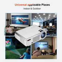 HiFi SRS Audio HD Projector 4:3/16:9 VGA HDMI USB Audio Video Home Theater Projector US Plug