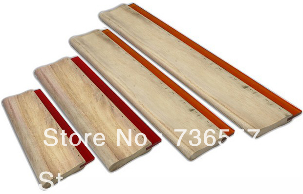 4 pcs Silk Screen Printing Squeegee Ink Rubber Scratcher 6.3/9.4/13/18 16cm/24cm/33cm/46cm free shipping discount cheap 2 pcs silk screen printing squeegee 24cm 33cm 9 4 13inch ink scaper tools materials