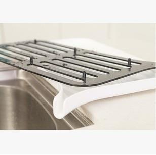 Doppelschichten Küchenablauf Rack Küchenschrank Regal Schüssel - Home Storage und Organisation - Foto 3