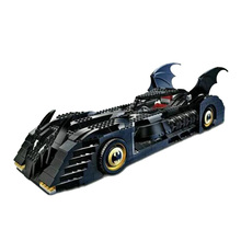 Decool 7116 Superhero Batman Batmobile Action Model Minifigures Building Kits City 3D Blocks Toys For Children