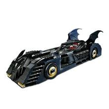 Decool 7116 Superhero Batman Batmobile Action Model Minifigures Building Kits City 3D Blocks Toys For Children