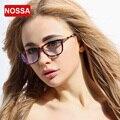 NOSSA Prescrição Quadro Eyewear Limpar Lens Substituível Óculos Femininos Óculos de sol das Mulheres Elegantes óculos de Miopia Óculos de Armação de óculos Óptica