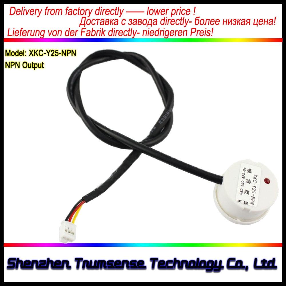 XKC-Y25-NPN Interruptor de nivel de líquido sin contacto Sensor de control de nivel de agua Monitor de nivel de agua Sensor de control automático DC 5 a 24 V