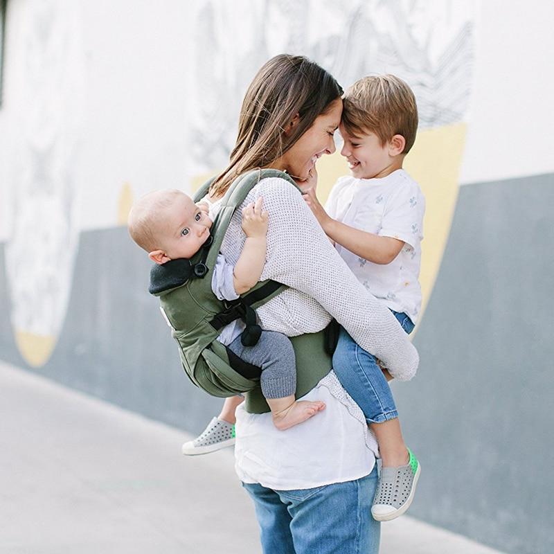 360 omni четыре позиции эргономичный органический хлопок baby carrier Портативный Multi функция переноска для детей обёрточная бумага Регулируемый сл...