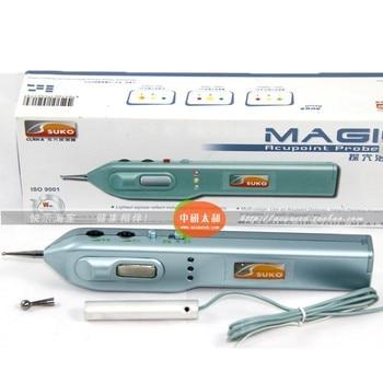 suko Magic Optical Acupoint Probe auricular point detector ear acupuncture point pen Auricular point pen free shipping