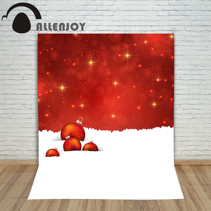 Allenjoy photography backdrops bokeh circle snowflake stars photocall baby shower Customize profession christmas backgrounds