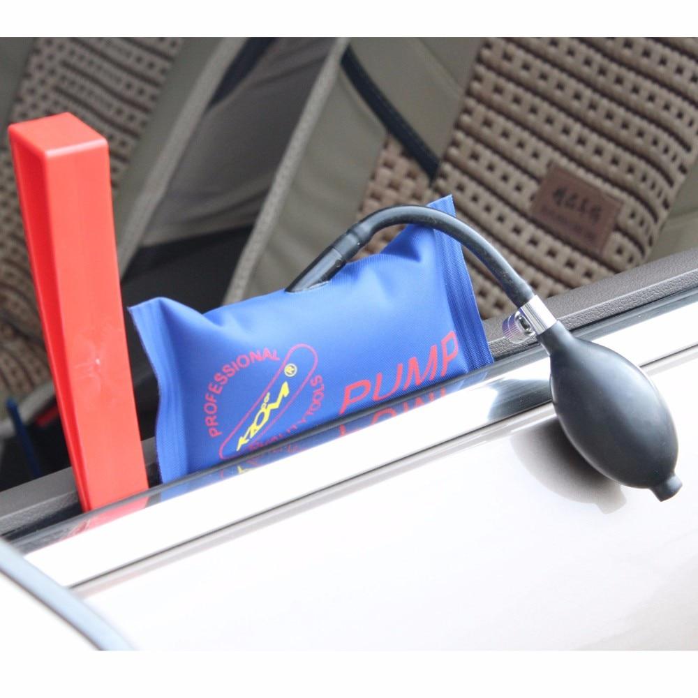 WHDZ Tool Pump Wedge Airbag Auto Entry Tools Pick Set Open Car Door Hand Tools Air Wedge Pump in locksmith  Airwedge