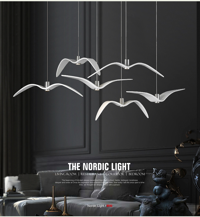 A1 Nordic Pendant Lights creative personality modern minimalist designer fashion art bar bedroom dining room pendant lamp FG825 a1 led living room dining modern pendant lights ring fashion personality creative pendant lamp art bedroom hall pendant lamps