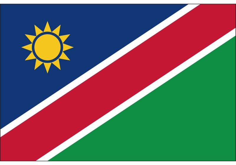 90*150cm/60*90cm/15*21cm Namibia National Flag 30*45cm Car Flag 3x5ft Polyester Banner For National Day / Olympic Games / Event