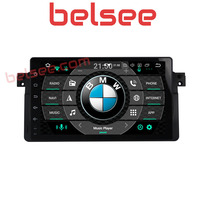 Belsee 9 inch 4GB PX5 Android 8.0 DAB Car Stereo GPS Navi Multimedia Head Unit Radio for BMW E46 M3 1998 1999 2000 2001 2002 06