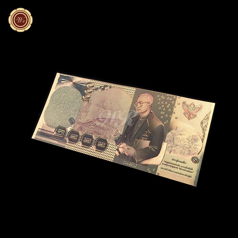 Us 1 Miliar Dolar Uang Kertas 999 24 Karat Foil Emas Berlapis Nilai Mexico 100 Peses 1982 K197 Warna Thailand 1000 Baht Mata Koleksi Souvenir Di