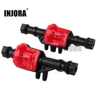 INJORA Front & Rear Alloy Metal Axle Shell Axle Housing 300g for 1/10 RC Crawler Traxxas TRX-4 & TRX4 Bronco Upgrade Parts