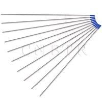 Blue Tip Welding Tungsten Electrode 2 Thoriated WL20 2 4mmx175mm Set Of 10