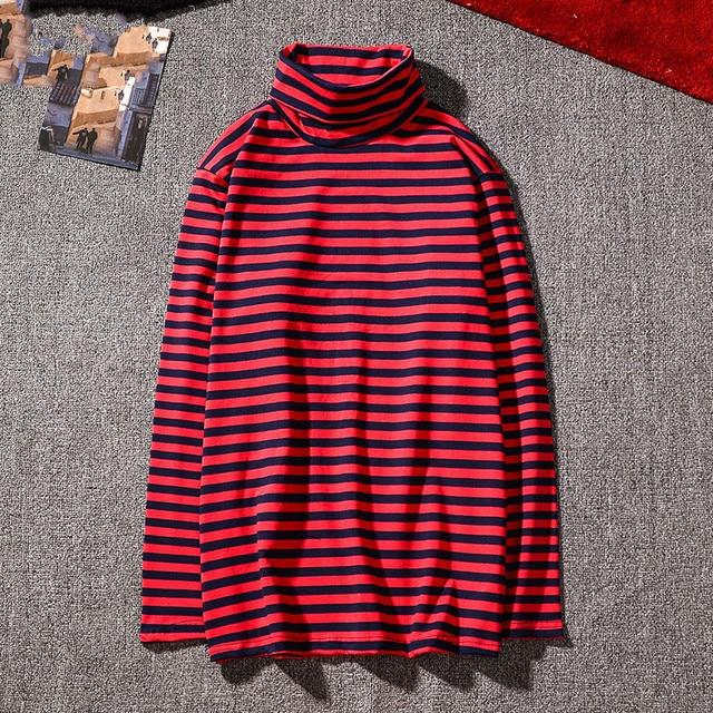 e0df16a49bb8 BTS Kpop Korean Harajuku GD Black White Striped T-shirt Men Women Unisex  Loose Oversized Extra Long Sleeve Couple T Shirt
