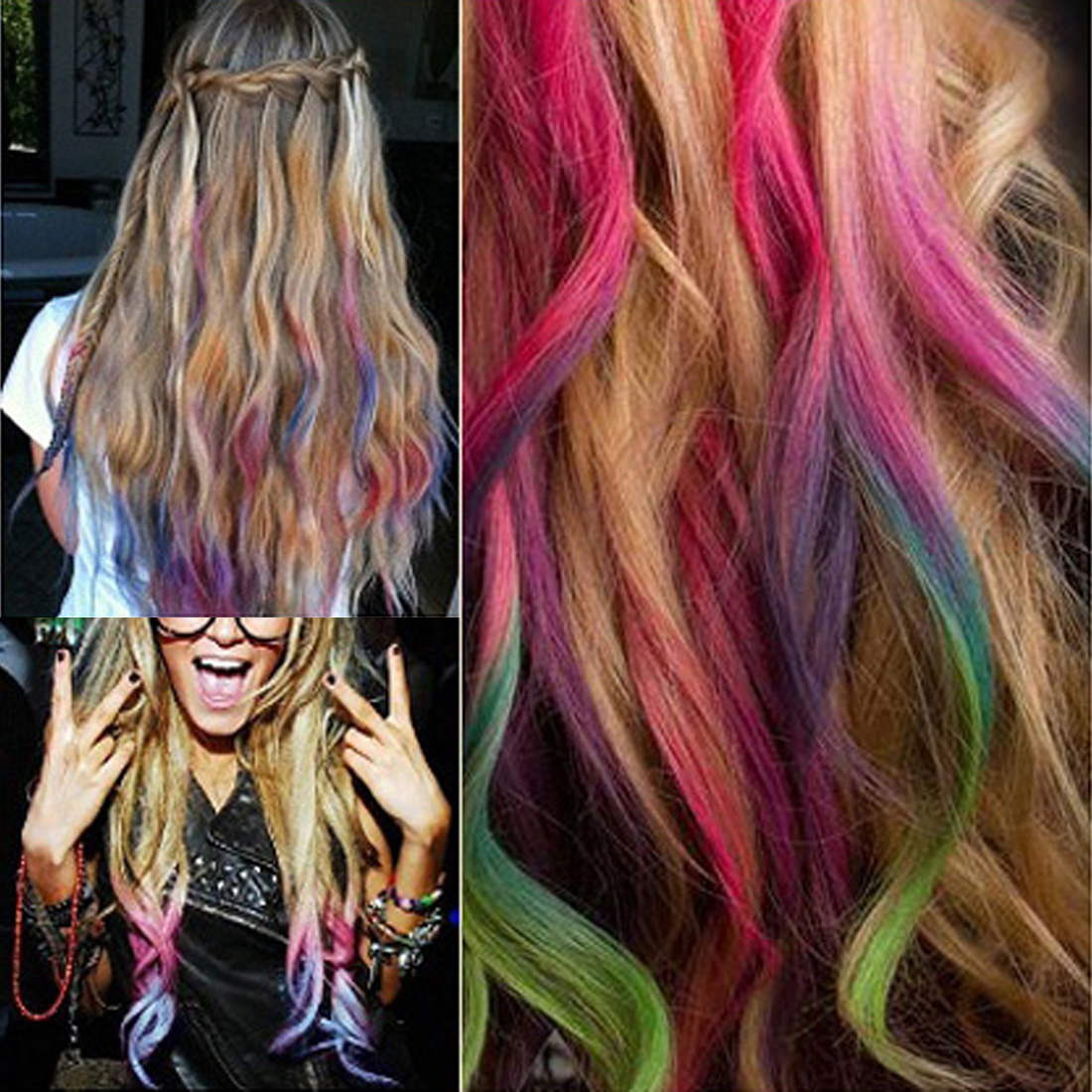 Hair chalks multi color to choose temporary color hair chalk hair chalks multi color to choose temporary color hair chalk disposable hair extension dye chalk 24 pieces in underwear from mother kids on aliexpress pmusecretfo Images