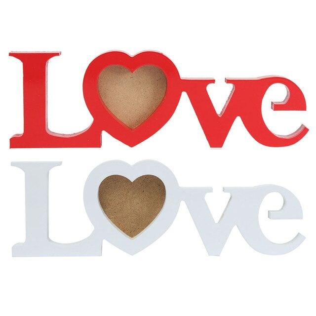 Recién llegado de hermoso diseño amor romántico de madera foto foto ...