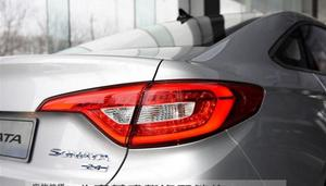 Image 4 - 1pcs 2015~2017year tail light for Hyundai sonata  taillight car accessories LED DRL Taillamp for sonata fog light