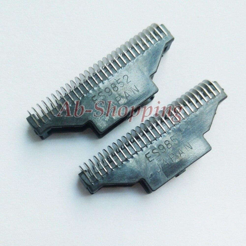 2PCS Shaver ES9852C Cutter for Panasonic ES-RW30 ES4001 ES4025 ES4027 ES4033 ES4105 ES4813 ES4815 ES4820 ES4823 ES4826 ES4853