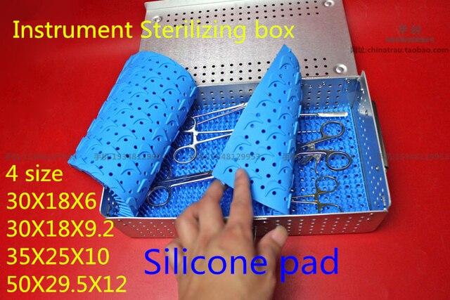 Boîte de stérilisation de stockage dalliage daluminium dinstrument chirurgical orthopédique médical de dentel