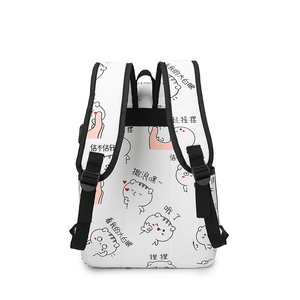 Image 4 - 3 Pcs/Set USB Charging Canvas Women Backpack Printing School Backpacks Schoolbag For Teenagers Student Book Bag Girl Boy Satchel