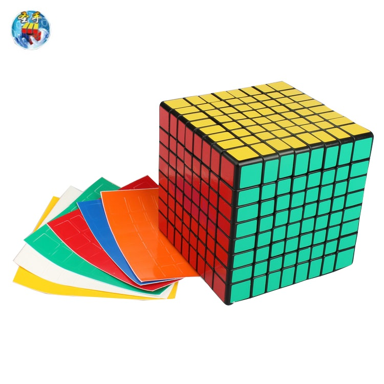 Shengshou Magic Cube 8x8x8 Professional 8.4cm Sticker  Cube Educational Puzzle Toys new shengshou 10x10x10 magic cube professional pvc