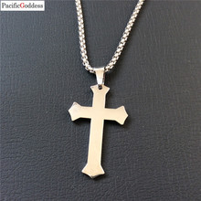 цены на cross necklace pendant fashion cool necklaces pendant very hot sell cheapest cross pendant nice thick chains  в интернет-магазинах