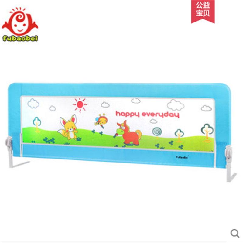 Children's bed fence crib guardrail baby bed bar 1.8 fence 2 m bed shatter-resistant bed block