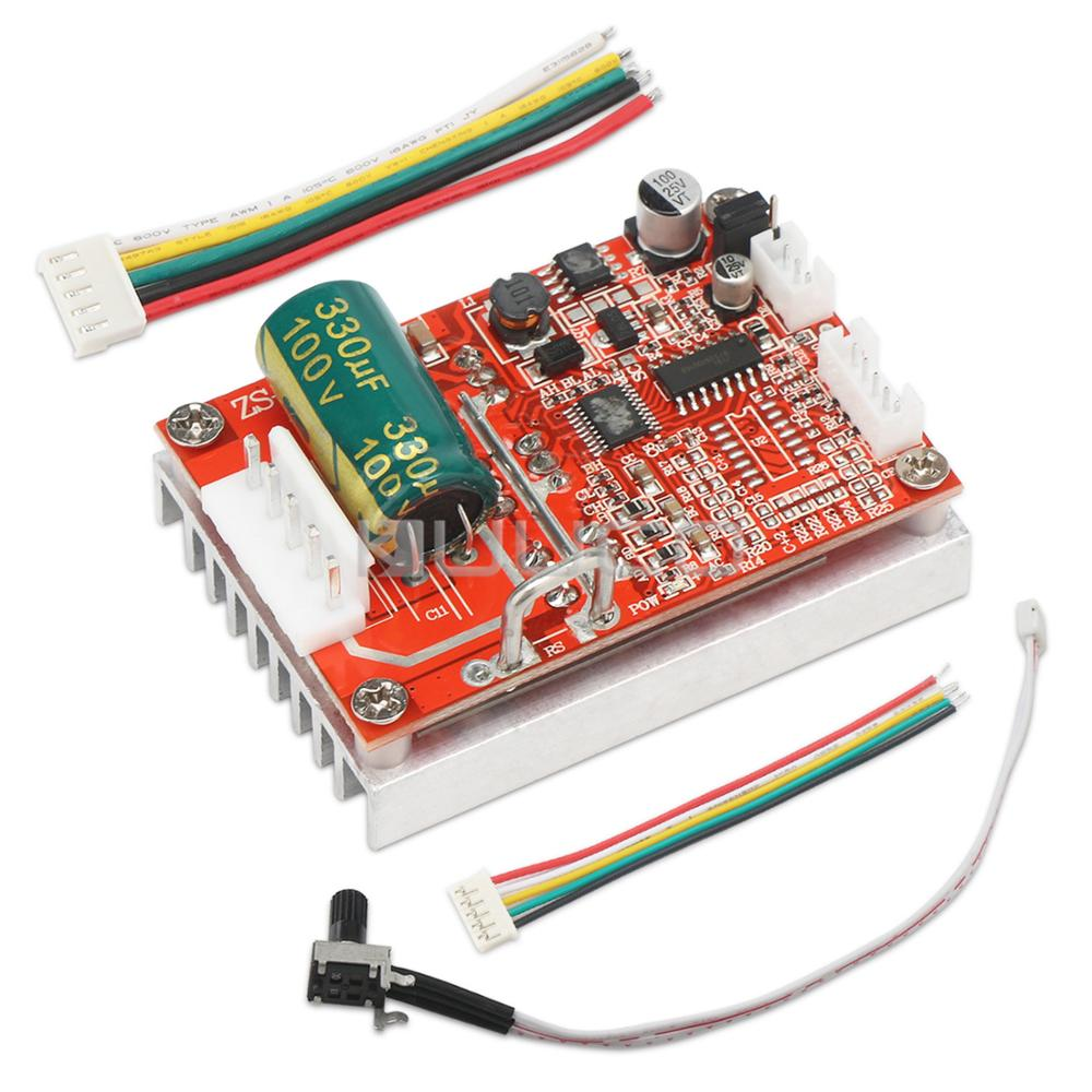 Brushless Sensored Motor Control Board Motor Driver Regulator Controller DC 5~36V 16A 350W BLDC Motor Controller/Control Switch