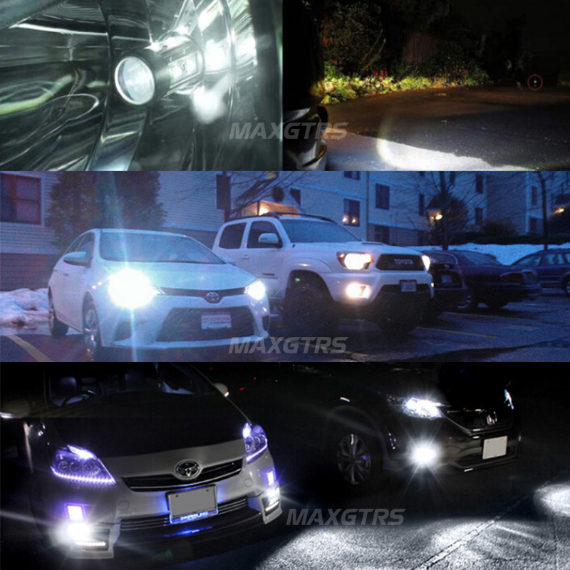 Image 5 - 2x 車クリアランスライト LED PW24W PWY24 CREE チップ Drl 昼間信号曇交換用バルブ実行アウディ a3 a4 a5 q3led projector audiaudi projectorled a4 -