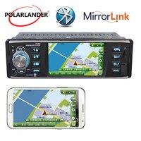 Autoradio 1 din radio cassette player MP5 player HD USB/SD/FM 4 inch screen mirror link stereo Bluetooth car radio
