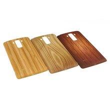 Para LG G4 caneta de madeira de bateria porta capa para LG G4 Stylus Ls770 G Stylo G4 substituição nota capa