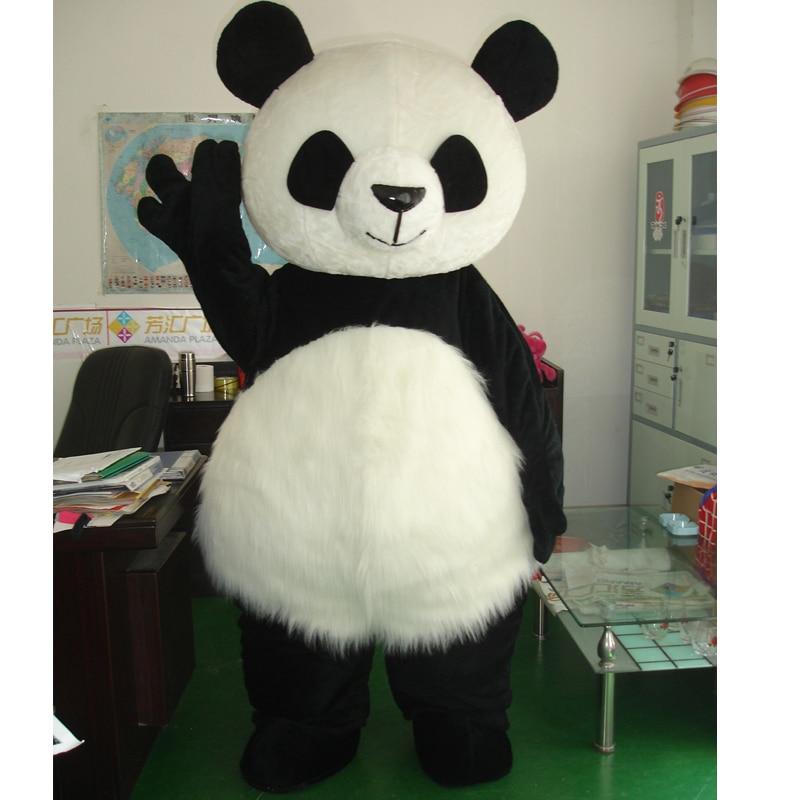 Costume de mascotte panda cosplay fantaisie