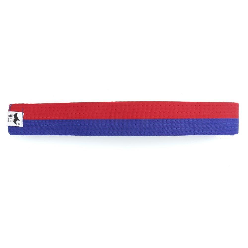 Black 280cm Karate Judo Taekwondo Martial Arts Double Wrap Belt