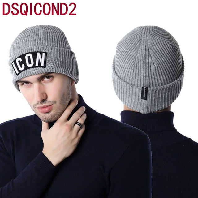 Best brand Winter Hat ICON Letter Men s Women s Classic Beanies Knit  Bonnets Delicate New Bonnet Gorro Invierno Skullies warm d81d6b92f9