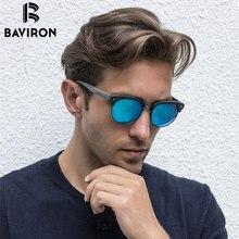 Baviron 2017 new holz sonnenbrille retro grain metall platte sonnenbrille anti-uv400 polarisierte beschichtung holz sonnenbrillen brillen 08