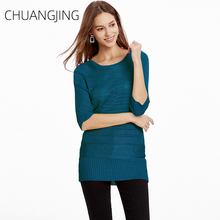 Casual Knitted Sweater Women Winter Autumn 2019 O-neck Short Sleeve Pullovers Ladies Fashion